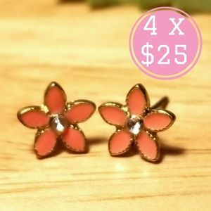 🌸 flowers earrings